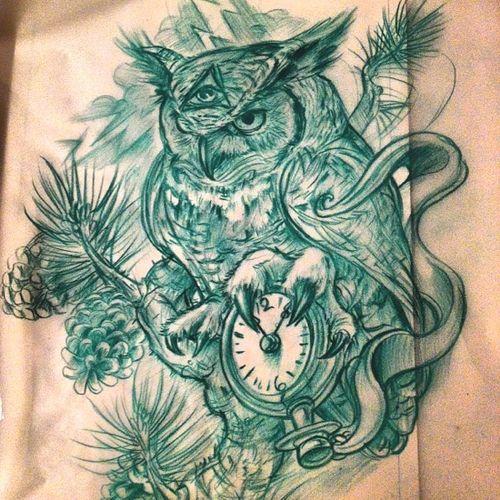 Owl tattoos Illuminati owl and Owl on Pinterest
