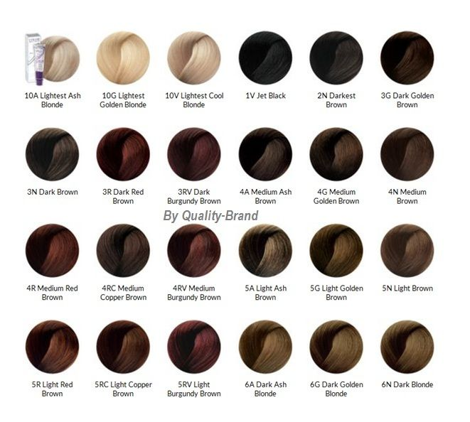 Best  Ion Hair Color Chart Ideas On   Ion Hair Colors