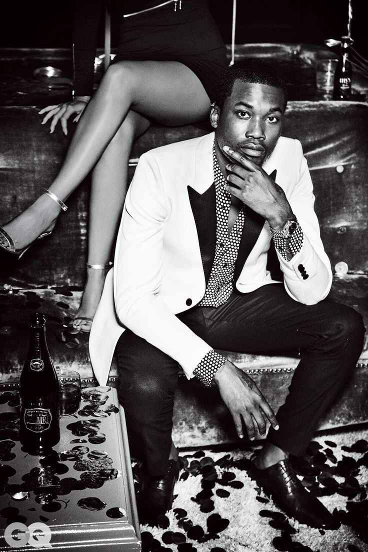Here's Nicki Minaj and Meek Mill's Sexy GQ Photo Shoot Photos | GQ
