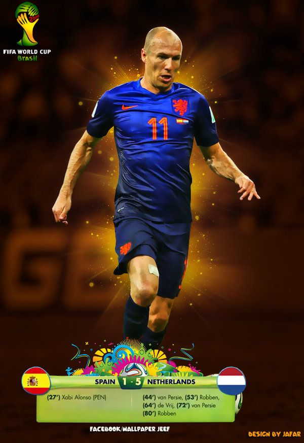 Robben World Cup 2014 by jafarjeef on deviantART