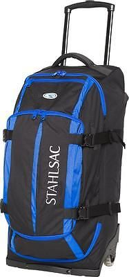 Gear Bags 29576: Stahlsac Curacao Wheeled Clipper Dive Bag - Blue -> BUY IT NOW ONLY: $279.95 on eBay!