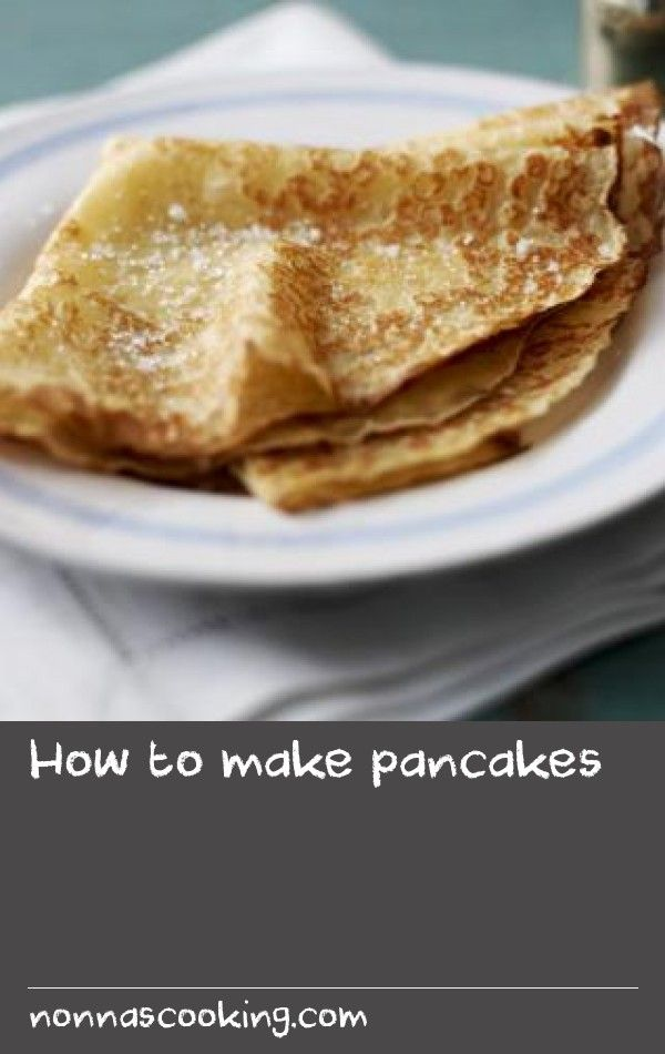 How to make pancakes |      This is the simple, straight-forward, everyday pancake recipe, great for sweet or savoury pancakes.