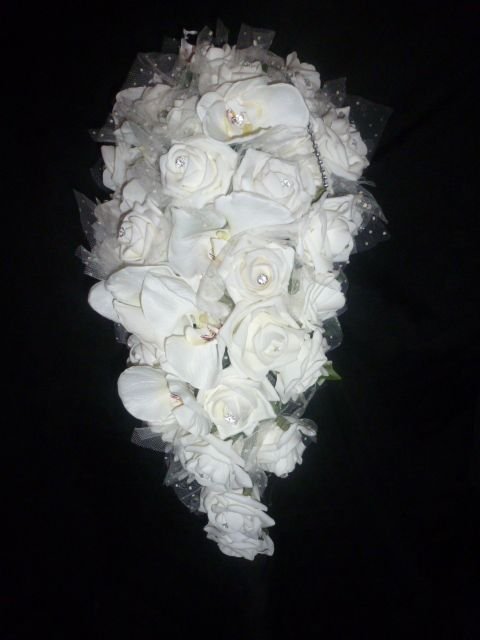 Poly foam bridal shower bouquet