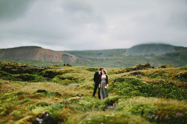 Idyllic Iceland Wedding: Brandy + Justin, photo by Pat Furey