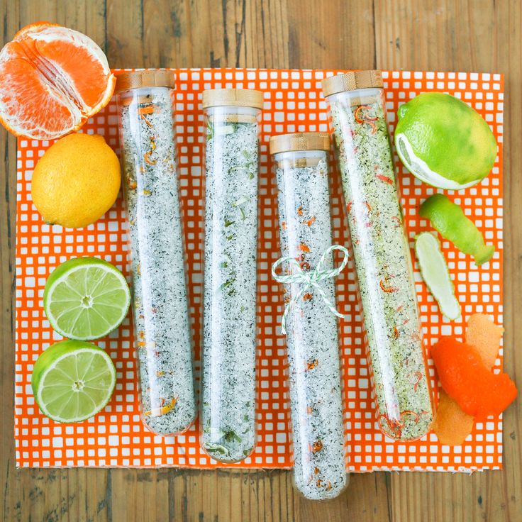 Citrus Green Tea Bath Salts | Thirsty For Tea