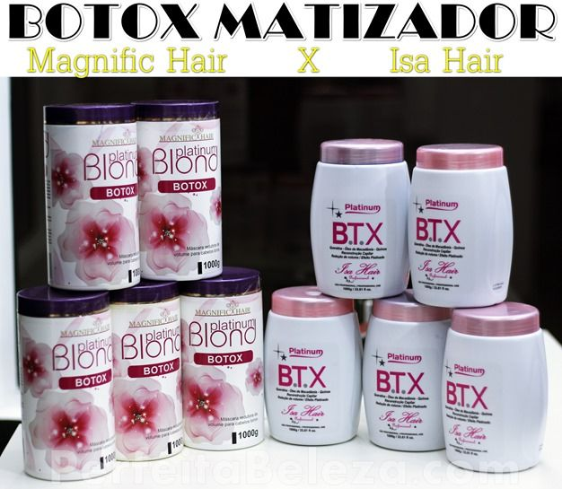 botox matizador platinum isa hair - Pesquisa Google