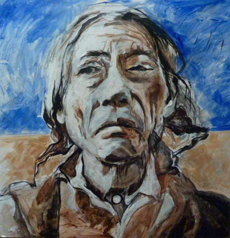 Tacha Sinte Sapa (aka Black Tail Deer) the husband of Nite Win (aka Hip Woman) of the Oglala Lakota