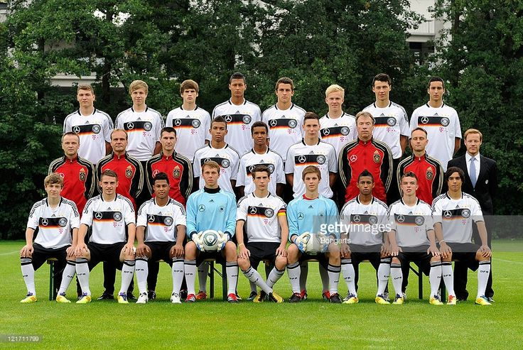 U17 German national team presentation at Commerzbank Arena on August 22, 2011 in Frankfurt am Main, Germany.
