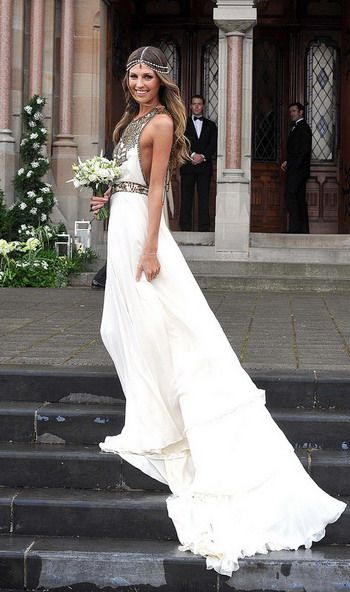 Boho Chic Wedding Gowns   boho-chic-wedding-dress