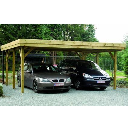 € 1599.00 Cartri carport dubbel hout/alu 640 x 510 cm