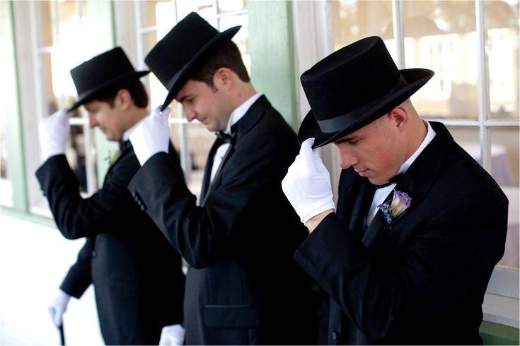 Austin-texas-wedding-groomsmen-gentleman-in-black-tux-hat-white-gloves ...1502 x 1002 | 99.3 KB | www.onewed.com