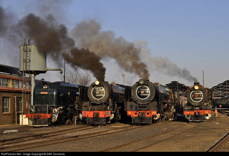 RailPictures.Net Photo: SAR No. 3472 Reefsteamers Association SAR Class 25NC at Germiston, South Africa by SAR Connecta