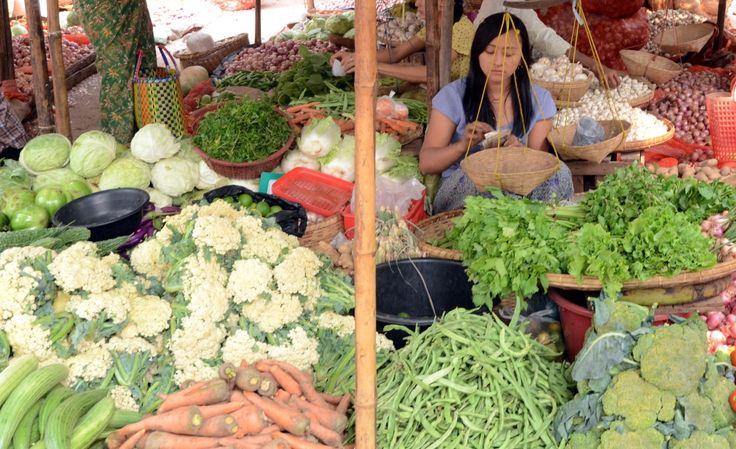 Mani Sithu Markt in Nyaung U