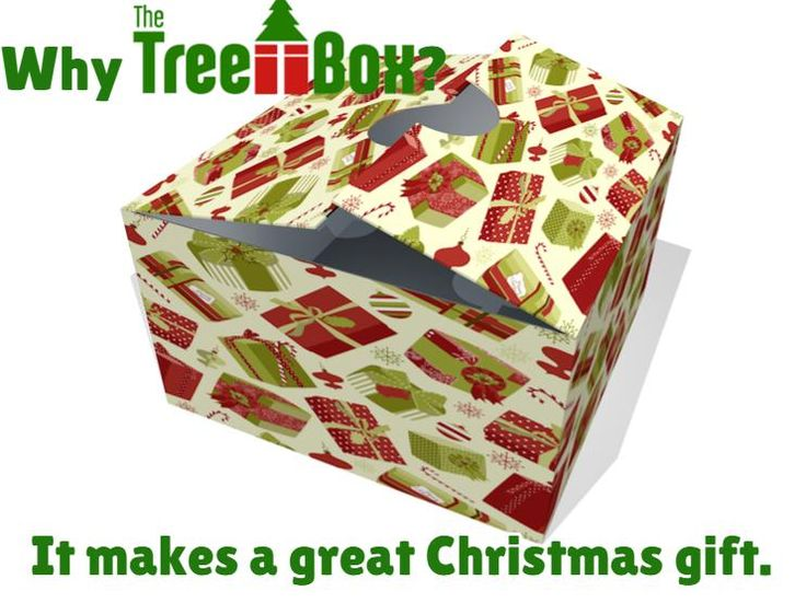 Why Tree Box? It make a great Christmas gift.