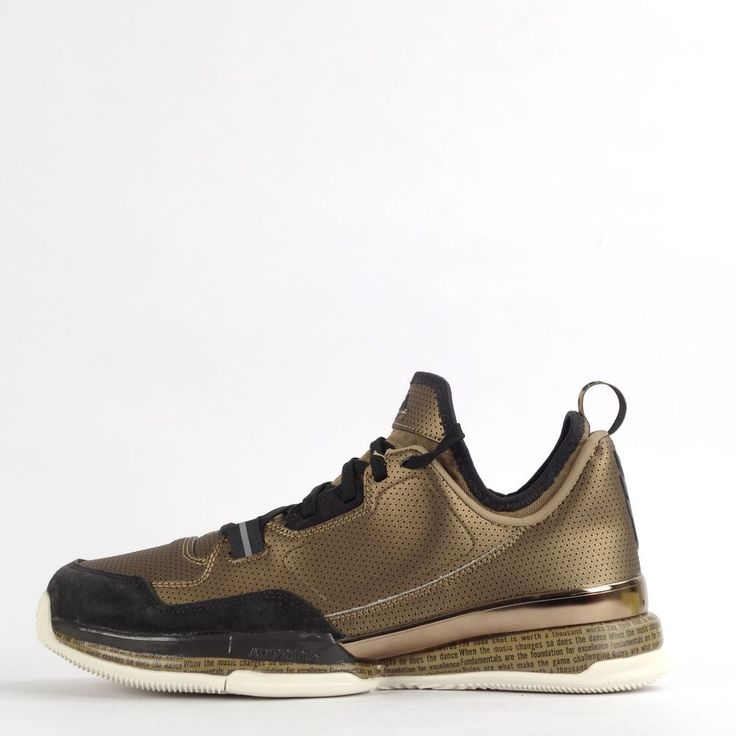Adidas D Lillard BHM Mens Basketball Trainers Shoes Sneakers Brown #adidas #BasketballShoes #Basketball