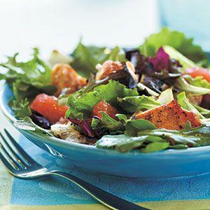 ... summer recipe salad recipe grilledsalmon grapefruit salad blood orange
