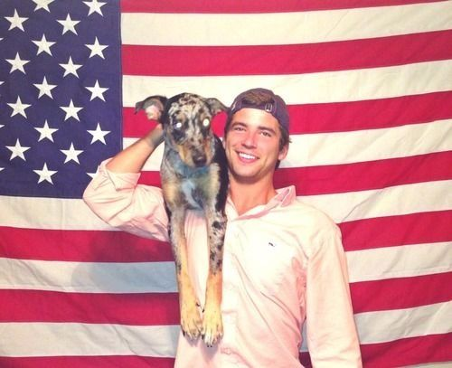 God Bless America, Frat Boys & puppies