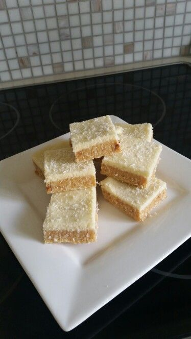 Lemon slice  Made own biscuits and condenced milk with dextrose. Lemon juice used in the icing