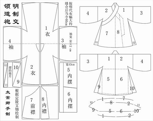 "Chinese costuming patterns, including detailed hanfu directions using modern techniques (due to 20"" limit on period looms)                                                                                                                                                                                 Más"