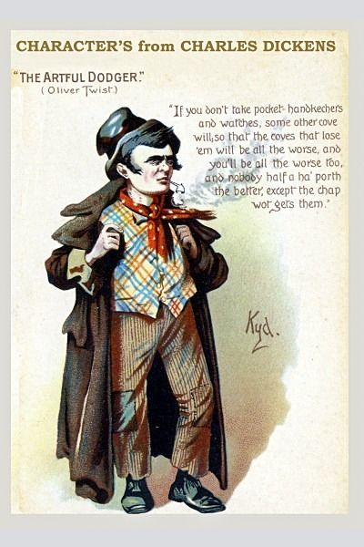 Artful Dodger 1 - Charles Dicken's Characters