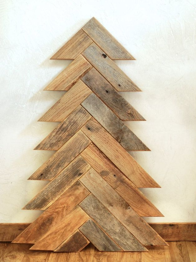 Wooden Christmas Tree | 10 Wooden Christmas Trees with Eco-Style | Dining and Entertaining