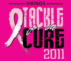 Tackle Cancer Shirts | ... pink Tackle for the Cure shirts to Pink Out Merril Green Stadium