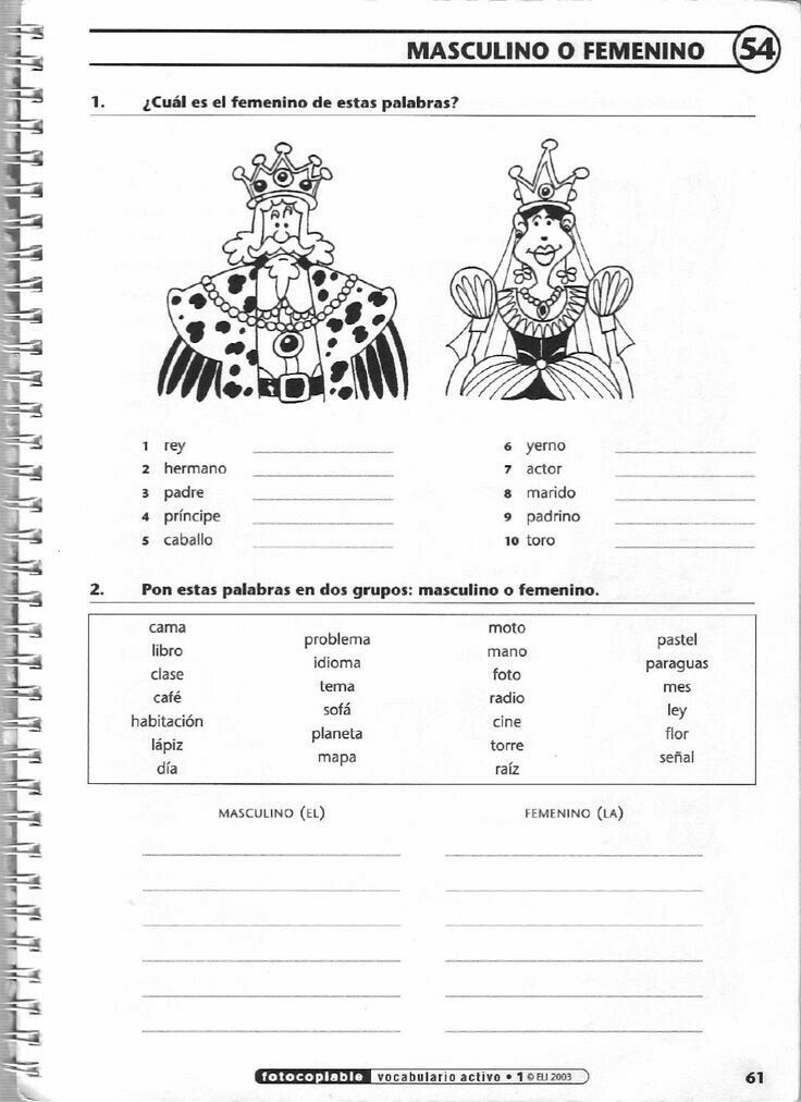 321 Best Worksheets Images On Pinterest Spanish Classroom Spanish
