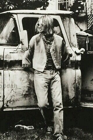 Kurt Cobain by Anton Corbijn.