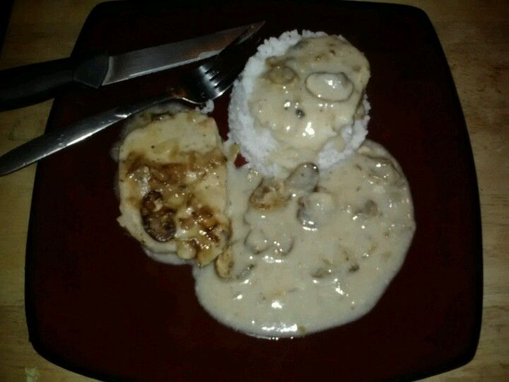 how to cook baked pork chops and gravy
