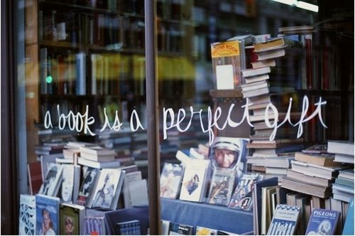 a book is a perfect gift