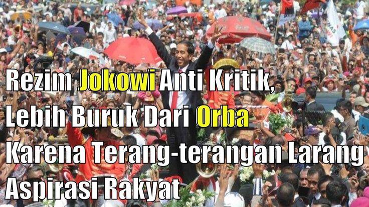 SBY dinilai lebih bisa menerima Kritik di Banding Jokowi