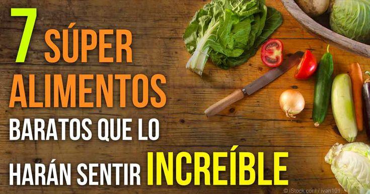 Aquí hay 7 alimentos básicos saludables que pueden mejorar su nutrición y 7 super alimentos no muy conocidos que pueden añadir aventura a su cocina.