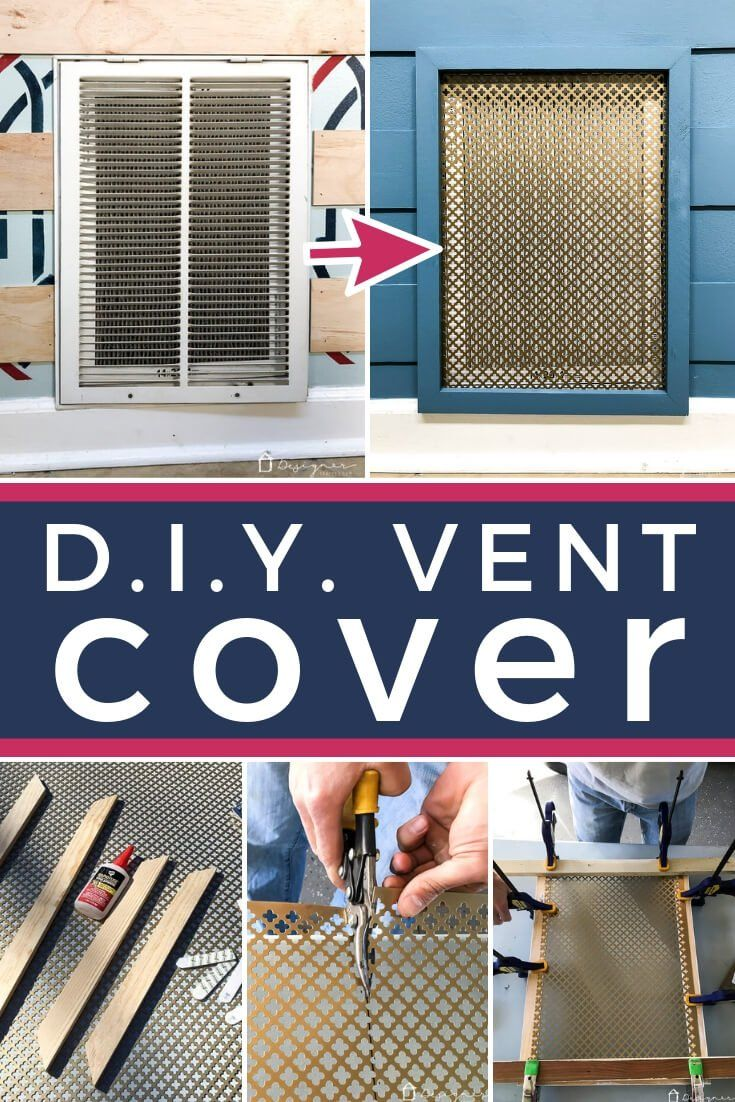 Diy Vent Cover It S Pretty And Easy Vent Covers Diy Wall