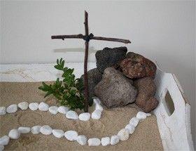 de weg van Jezus gesloten graf, stille zaterdag