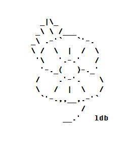 ASCII Artist – Page 13 – ASCII art by ldb