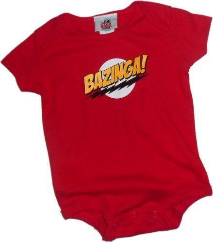 Bazinga! — The Big Bang Theory Infant Onesie « Clothing Impulse