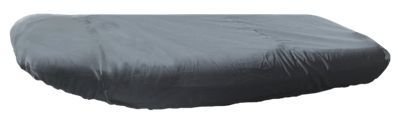 Bass Pro Shops Select Fit Hurricane Boat Covers for Inflatable Blunt Nose Models with Outboard - Gray - 76''