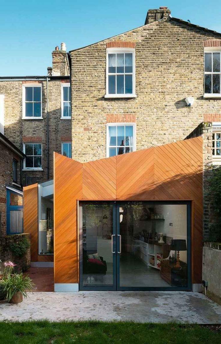 159 best maisons et extensions ossature bois images on for Agrandissement maison isere