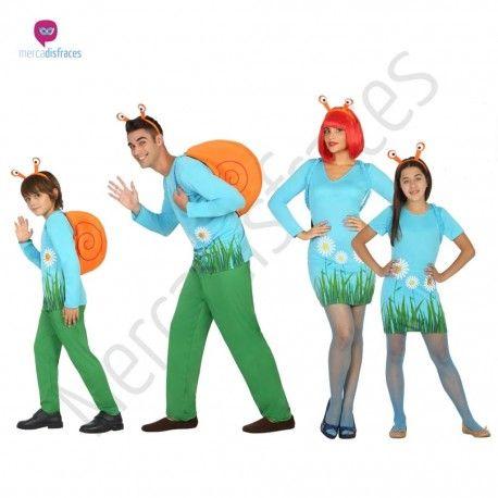 Disfraz de #Caracol para niña #disfraces para #grupos #comparsas en #mercadisfraces.es tu #tienda de #disfraces #online