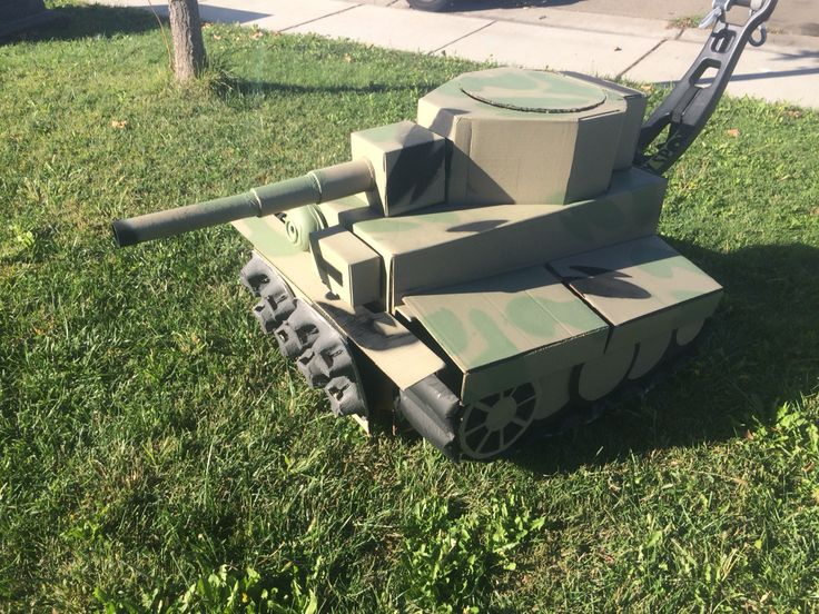 Tiger Tank Cardboard Diy Project Stroller Or Anything