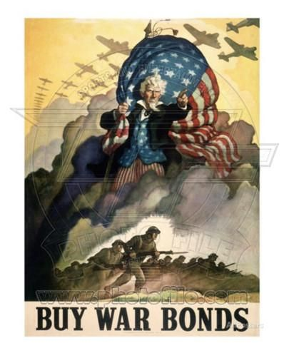 Buy War Bonds World War Two Photo at AllPosters.com