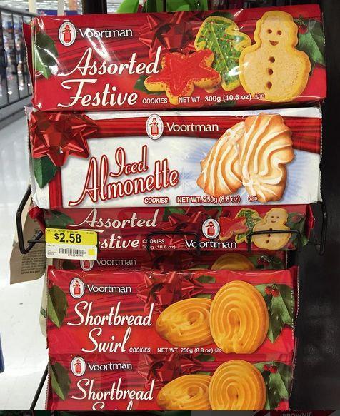 Voortman Assorted Xmas Cookies