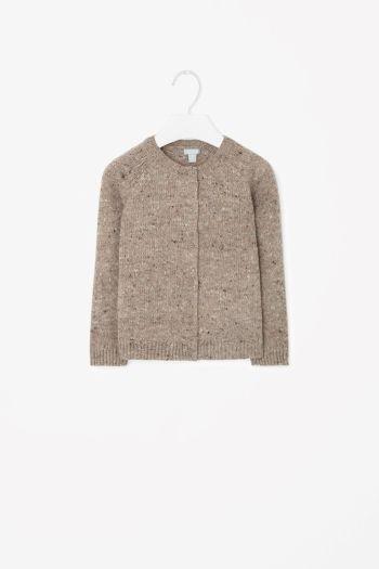 Multi-coloured wool jumper