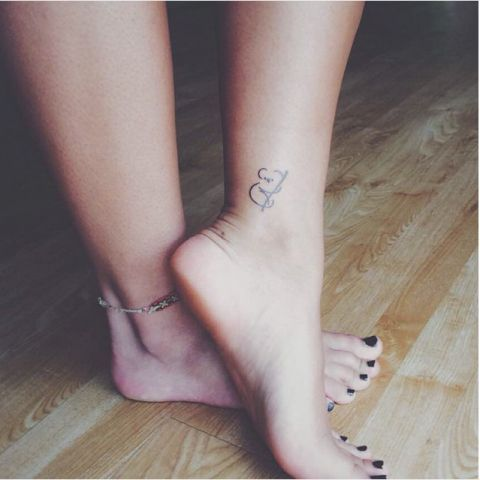 Of all the cute animal tats, this might just be the cutest.