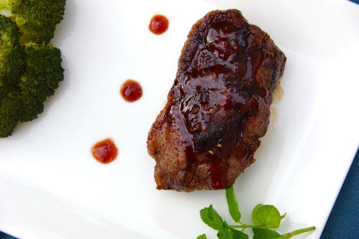 Lamb Chops with Raspberry Marsala Sauce