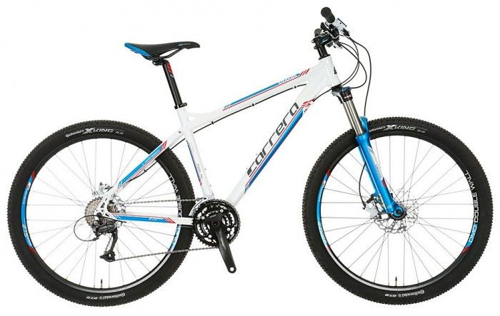 Cheap hardtail mountain bike - Carerra Kraken 15