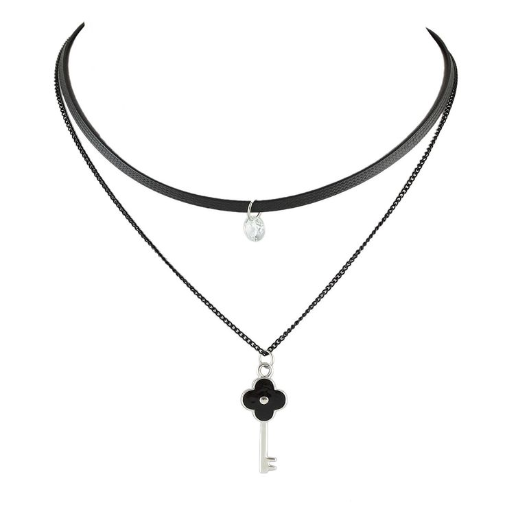 Pin By Katherine On New Necklace Chain Choker Layered