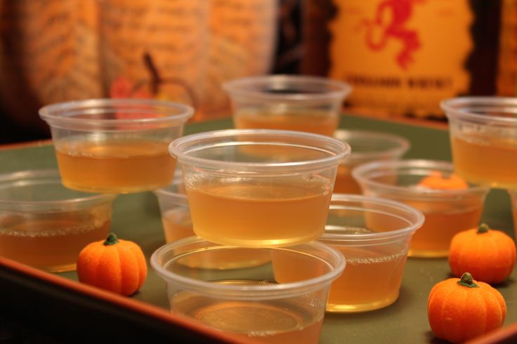 Fireball is nothing short of a gift from the gods that has been bestowed upon us so we can be spared from gagging on vodka jello shots.  These jello shots taste like delicious apple cinnamon and you can barely tell there's any alcohol (so be careful, there is indeed plenty of booze in this recipe.)