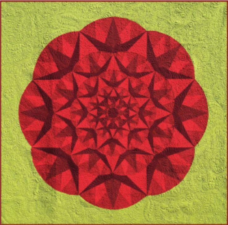 Sunflower Simple Quilt Barn Pattern