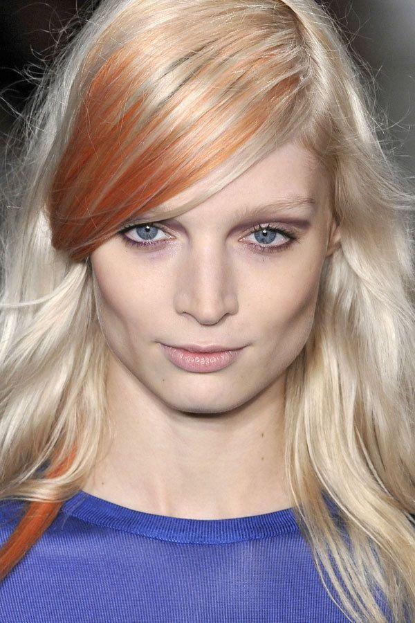 Peter Som's Spring 2012 Rose-Gold Hair